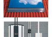 Indach Solaranlage mit Gasbrenn